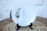 arcopal/フランス 白菊柄のデザートプレート